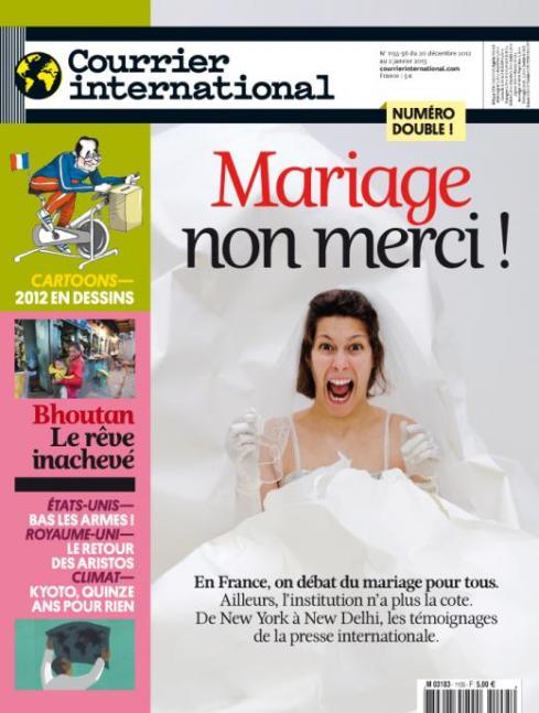 mariage gay France Monde